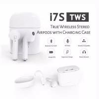 WIRELESS HEADSET I7S TWS BLUETOOTH 4.2 HBQ HANDSFREE EARPHONE AIRPODS