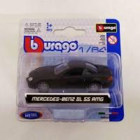 Bburago 1.64 2003 Mercedes-Benz Sl 55 Amg W Blingz Rim Black Sp Ver