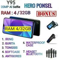 VIVO Y95 RAM 4/64 GARANSI RESMI VIVO INDONESIA