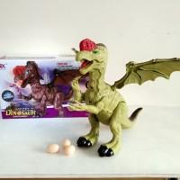 Mainan Dinosaur bertelur dan bersayap