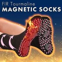 Tourmaline Kaos Kaki Foot Theraphy Socks Magnetic Heating