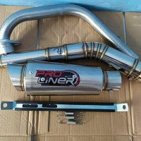 knalpot racing proliner jupiter mx new byson r15 v3 mx king verza