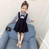 Dressanak Perempuan Cewek Import Xg85 Dress Jeans Anak Merk Zara Super