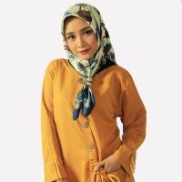 Tunik kantong camping yellow | blouse yellow
