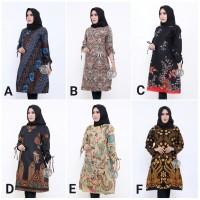 Tunik Batik 3 Atasan Batik Wanita Batik Tunik Dress Batik