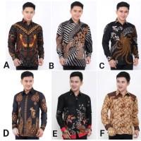 Kemeja Batik Pria Lengan Panjang 2 Baju Batik Pria Batik Cowok