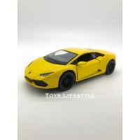 Kinsmart Diecast - Lamborghini Huracan Skala 1:36 (Kuning)