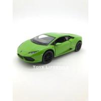 Kinsmart Diecast - Lamborghini Huracan Skala 1:36 (Hijau)