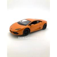 Kinsmart Diecast - Lamborghini Huracan Skala 1:36 (Oranye)