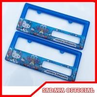 Dudukan Plat Nomor - Frame Plat Nomer Fiber - Bingkai Plat No Motor