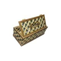 Kotak Tisu Bambu