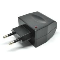 Adaptor AC-DC Car Charger Switch 12V 500 mA EU Plug - Black