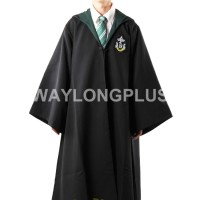 Cosplay import Free Shipping Slytherin Malfoy Robe Cloak Pullover