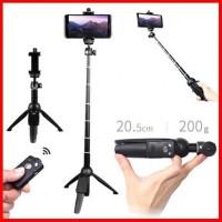 Yunteng Yt-9928 Tongsis Tripod Bluetooth 9928 Tongsis Yt Tripod Remote