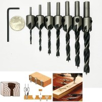 Mata Bor Drill Bit Countersink HSS 3-10mm 7 PCS