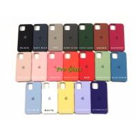 C201 Iphone 11 Original Apple Silicon Leather Case Silicone Premium