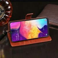 Casing HP Flip Cover Samsung Galaxy A50 A 50 Wallet Leather Case