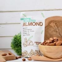 Natural Roasted Almond (Panggang) 500 Gr