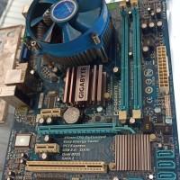 Motherboard Gigabyte G41 DDR3 Dilengkapi Prosesor Core 2 Duo dan HSF