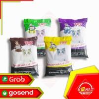 Pasir Kucing Top Cat Litter Bentonite 20 Kg / Gumpal Wangi 20kg - APEL