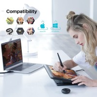 Huion Kamvas Pro 16 Interactive Pen Display Tablet Alternatif Wacom