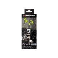 MONSTER ISPORT IN-EAR COMPETE GREEN