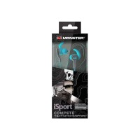 MONSTER ISPORT IN-EAR COMPETE BLUE