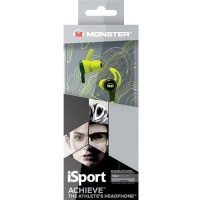 MONSTER ISPORT IN-EAR ACHIEVE GREEN