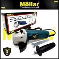 MOLLAR AG6700 Mesin Gerinda Tangan 100 mm Angle Grinder 670 Watt