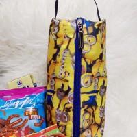 Tas Serba Guna Minions Souvenir Cantik Murah Tempat Snack Ulang Tahun