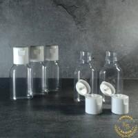 botol antis 30 ml/botol plastik 30 ml/botol fliptop 30 ml