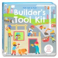 Builder Pop up Play Board Book buku aktivitas anak tool kit kado gift