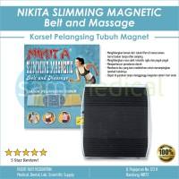 Nikita Sabuk/Korset Pelangsing - Slimming Magnetic Belt And Massage