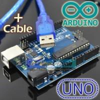 Plus Kabel UNO R3 ATMEGA 328P 16U2 DIP Ardu Board Atmel 328 Ardu ino