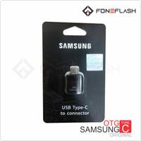 OTG USB Type C Samsung S8 Ori TIPE A5 A7 A8 C9 NOTE 7 8 9 S9 S10 PLUS