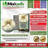 DVD Desain Mentah Undangan Kotak Persegi + Bonus