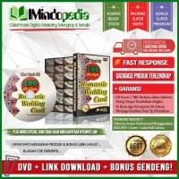 DVD Template Desain Mentah Undangan Romantic Wedding + Bonus
