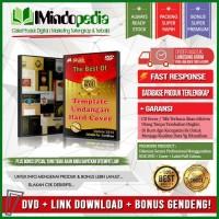 DVD Desain Mentah Undangan Hard Cover + Bonus