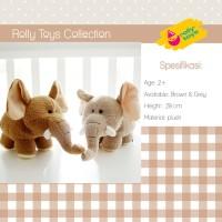 Mainan Anak Boneka hadiah kado gajah dumbo lucu import 28cm