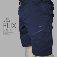 Celana Pendek outdoor pinnacle flix drak blue-not Eiger consina Rei