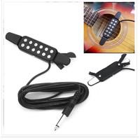 Pick Up 12 Lubang untuk Gitar Akustik Elektrik Bass