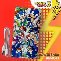 Custom Power Bank ( bisa request gambar sesuai keinginan )