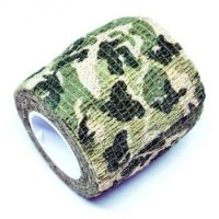 Camouflage Retractable Tape Hunting Survival Kit / Lakban Ajaib - H10