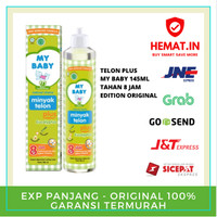 MY BABY MINYAK TELON PLUS 145 ML 150 ML TELON MY BABY 150 ANTI NYAMUK