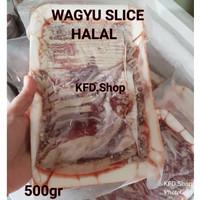 WAGYU SLICE Unik Murah 500GR