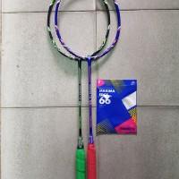 Raket Badminton Protech Varatas 7.8 7.9 original free senar