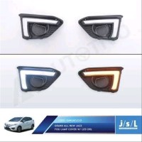 JSL LED DRL Grand All New Jazz Fog Lamp Cover with DRL