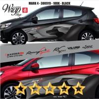 ERC Keren Cutting 3M Decal Stiker Mobil Sticker Racing Quality Mangele