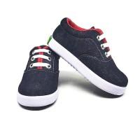Sepatu Anak Laki-Laki Murah Trendy Casual Stylist Jeans Denim Hitam