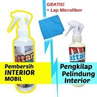 PAKET Pembersih Interior Mobil - Car Interior Cleaner + Semir Kilap
